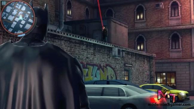 the dark knight rises gameplay screen shot 2