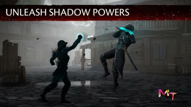 shadow fight mod apk gameplay 3