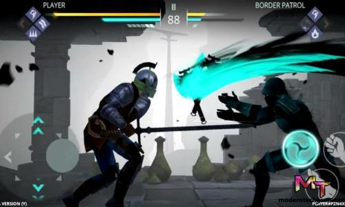 shadow fight mod apk gameplay 4