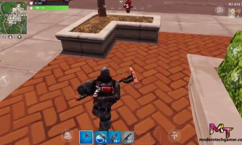 fortnite battle royale apk gameplay 4