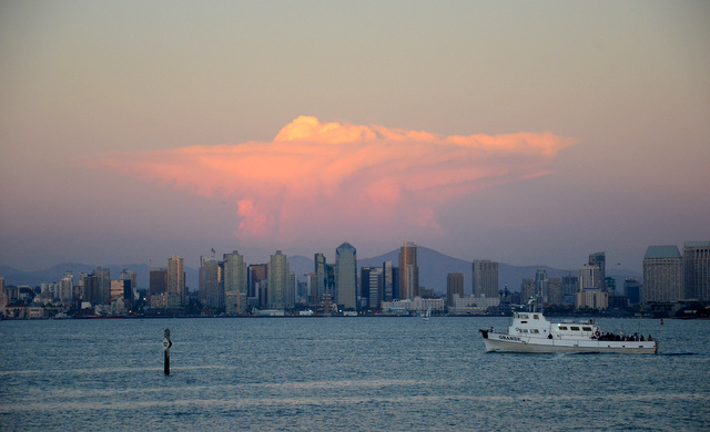 View of San Diego from the Bali Hai