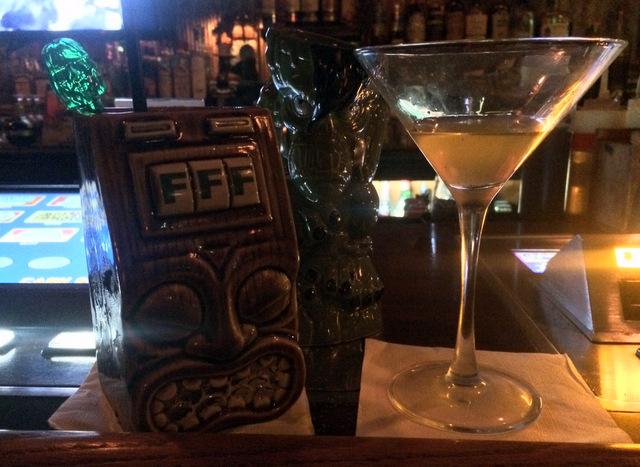 Cocktails at theBar - Frankie's Tiki Room, Las Vegas