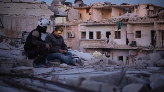An intimate portrayal of the last men of Aleppo