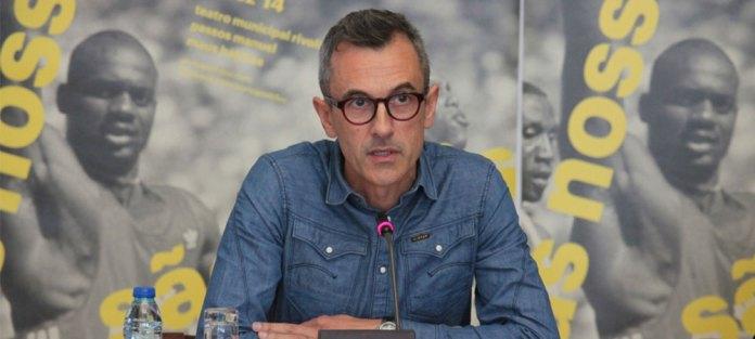 Dario Oliveira in primo piano