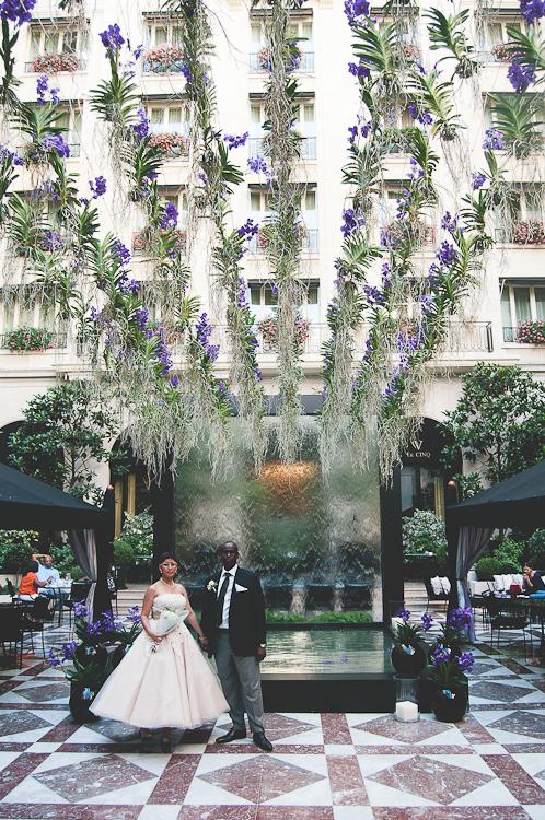 hotel george V paris wedding
