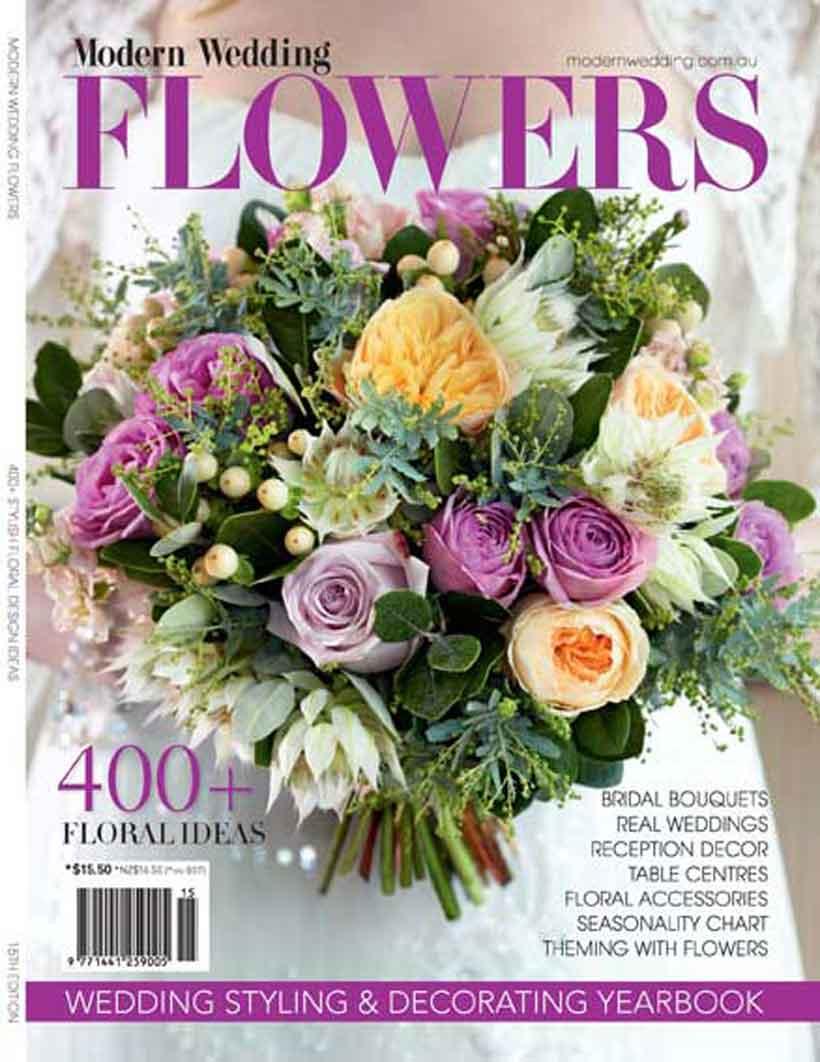 Modern Wedding Flowers Magazine Sneak Peak Modern Wedding