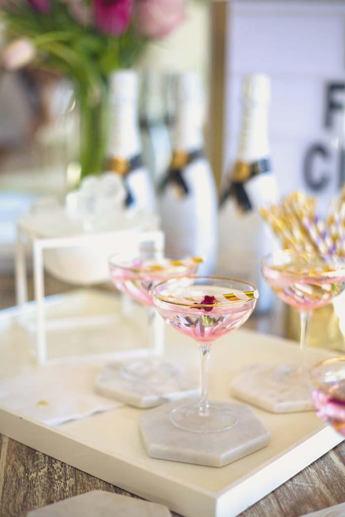 Sweet & Pink Bridal Shower Styling Inspiration - Modern ...
