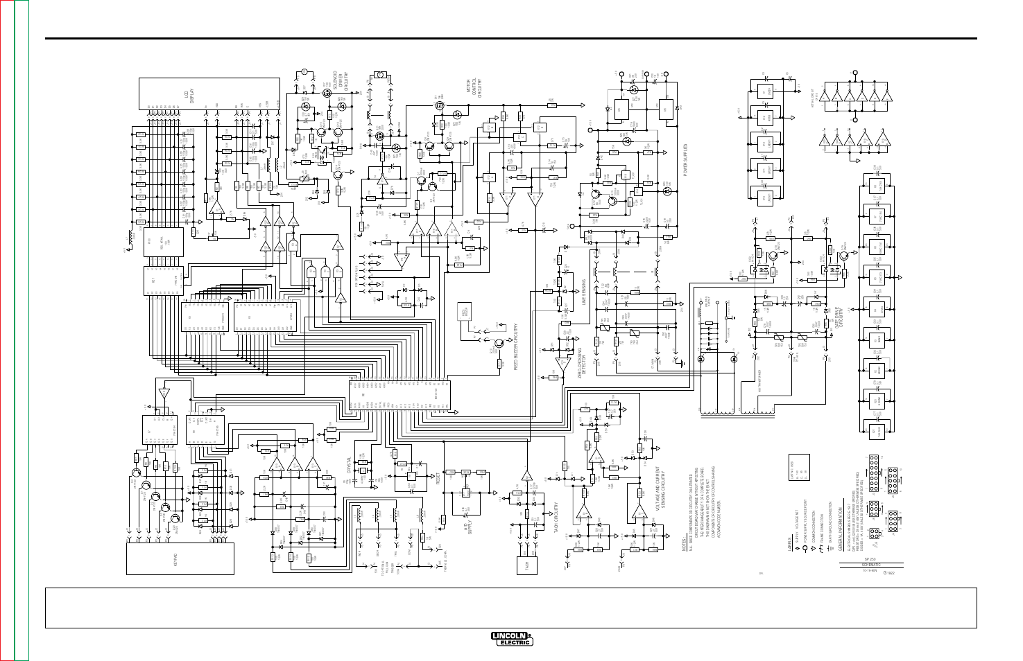 Electrical Diagrams G Control Pc Board Schematic G