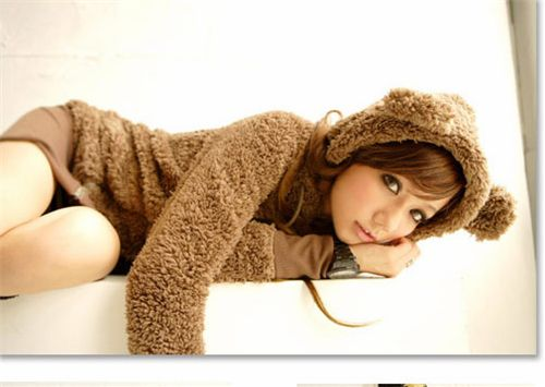 Cute Hoodie from Japan with bear ears