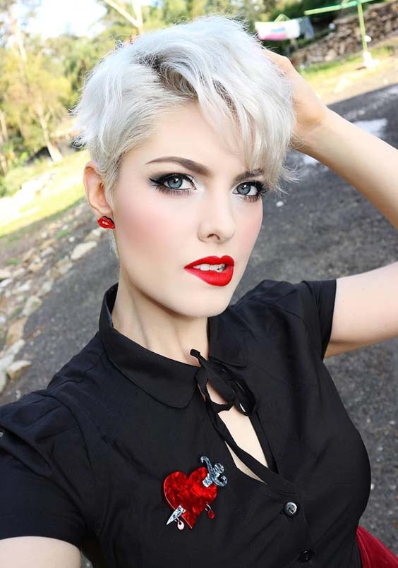 42 Fabulous Short Pixie Blonde Hairstyles Ideas For 2018
