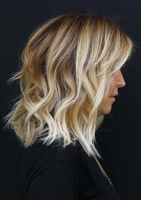 45 Natural Medium Length Blonde Haircuts For 2018 Modeshack