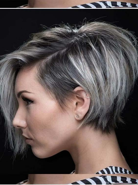 31 Great Colors For Long Pixie Haircuts To Apply In 2018