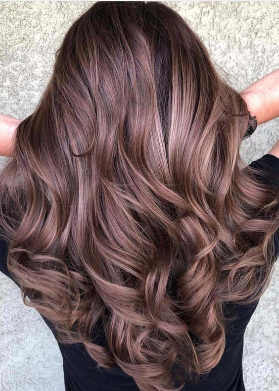 34 Stunning Chocolate Brown Hair Color Trends For 2018