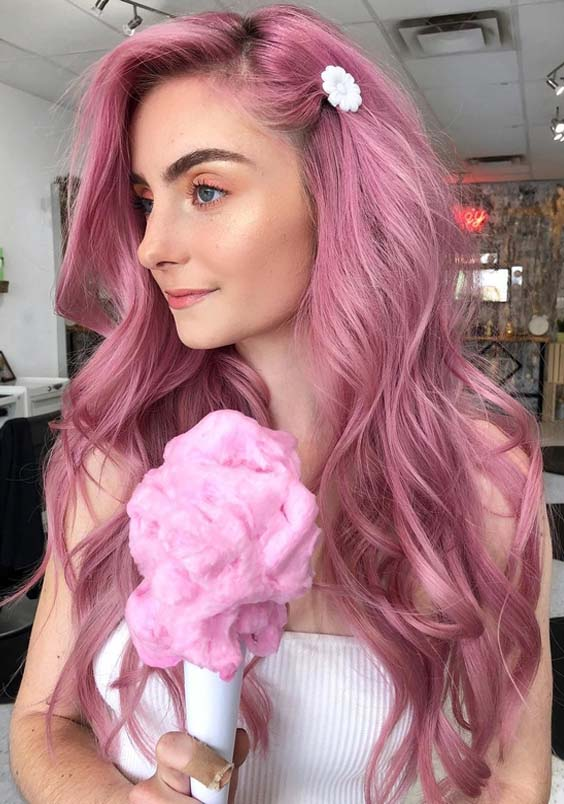 37 Popular Pink Hair Colors For Long Hair In 2018 Modeshack