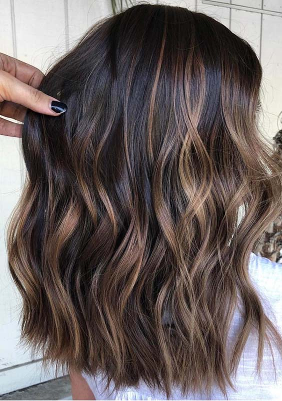 21 Bold Brunette Balayage Hair Color Highlights In 2018