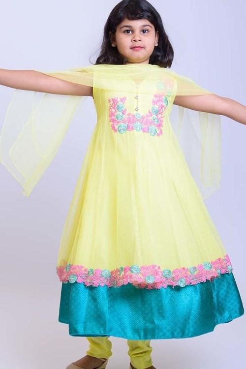 kids sleeveless party dress