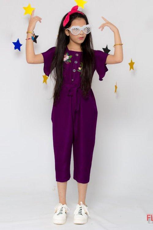 Purple Jumpsuits