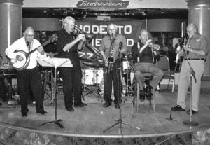 Founder's Day host band playing circa 2005