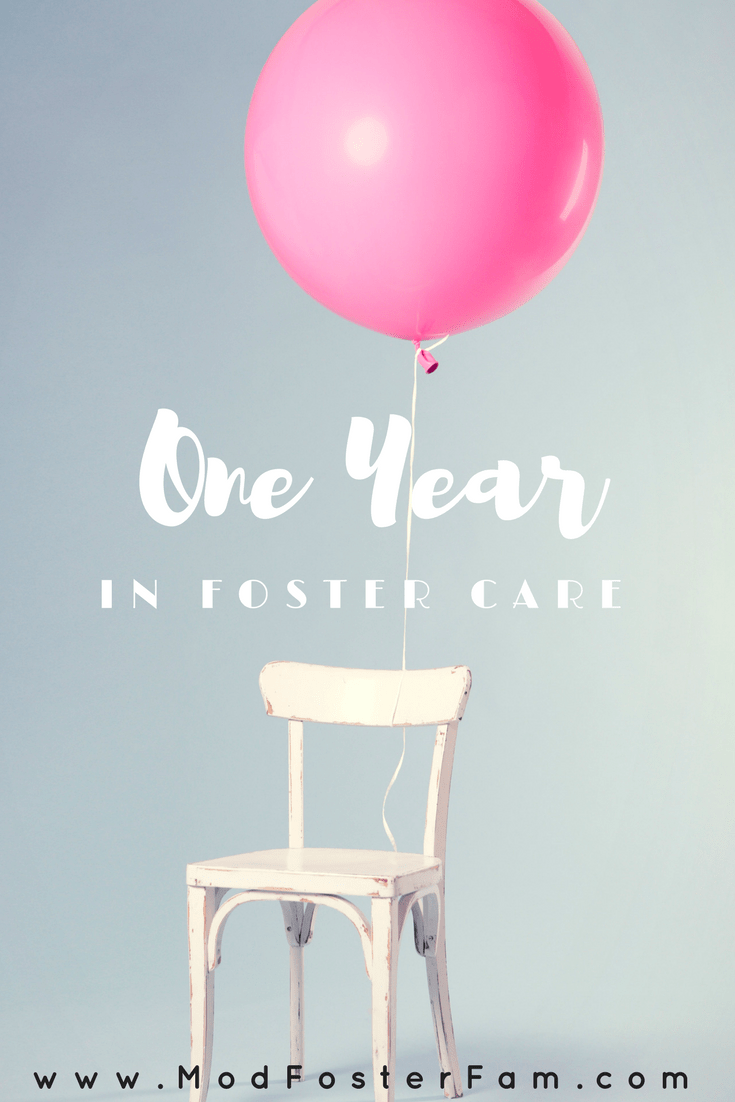 One Year • modern foster family