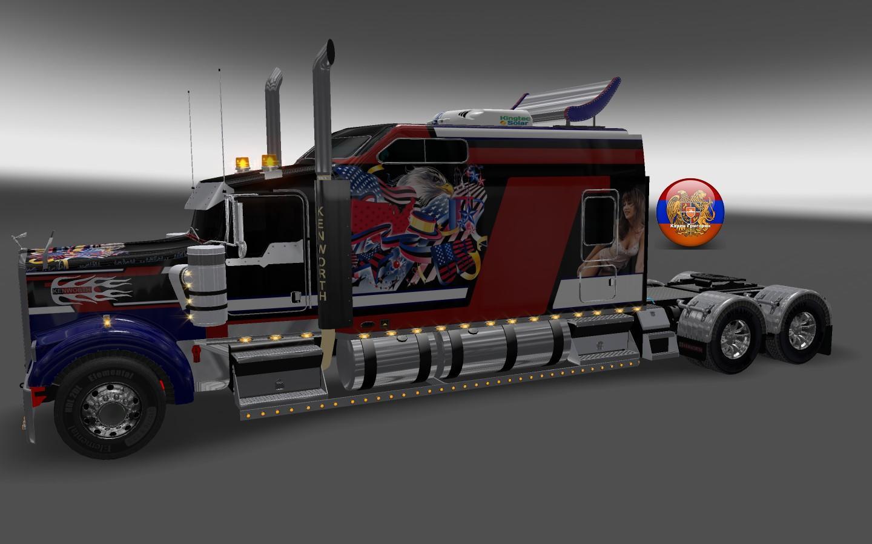 Fresh Logistics Skin Ets2