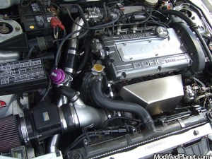 1998 Mitsubishi Eclipse GSX with Greddy BOV and K&N Air Filter