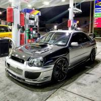 Modified Subaru STI Brooklyn NY- BYEOFFCR