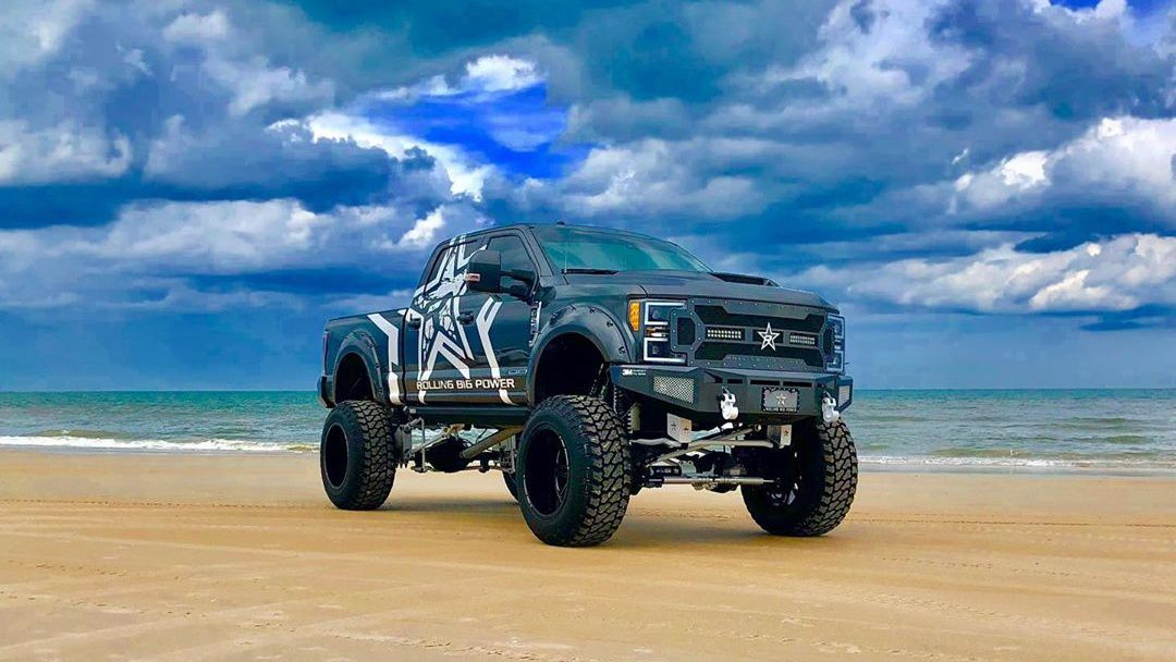 Custom Ford Trucks | F350 B.L.U. Customs