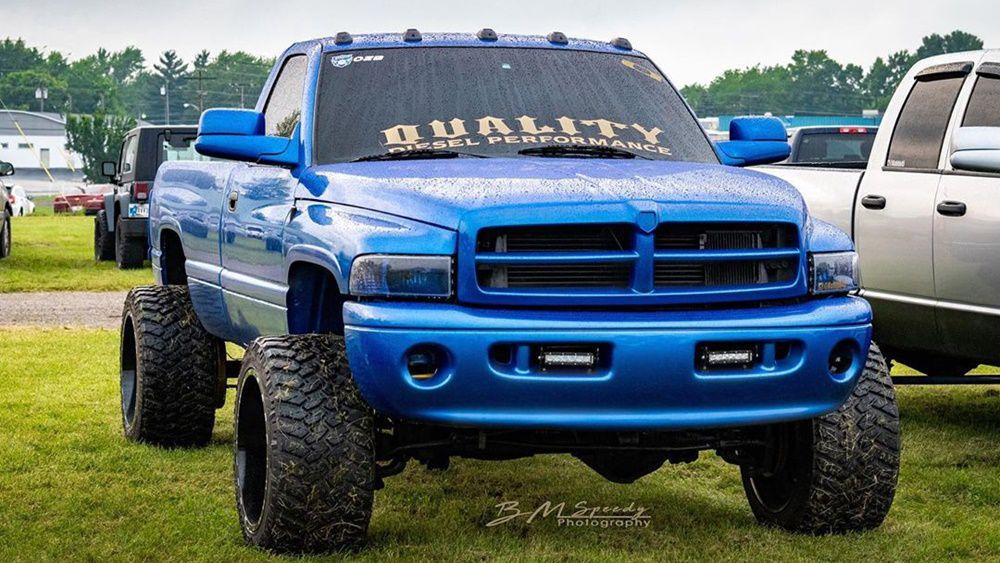 Big Blue Truck  [Lifted]