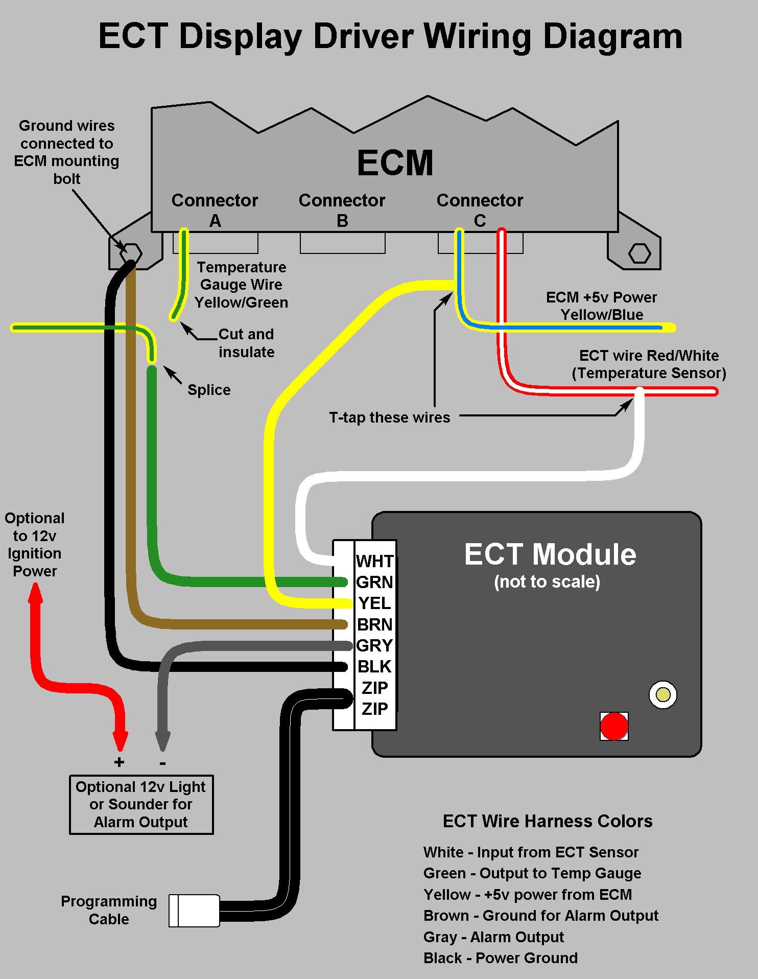 ECT wiring diagram?resize=665%2C859 1998 honda civic ecu wiring diagram wiring diagram  at fashall.co