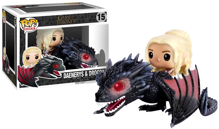 Funko POP Game of Thrones Figure: Daenerys and Drogon