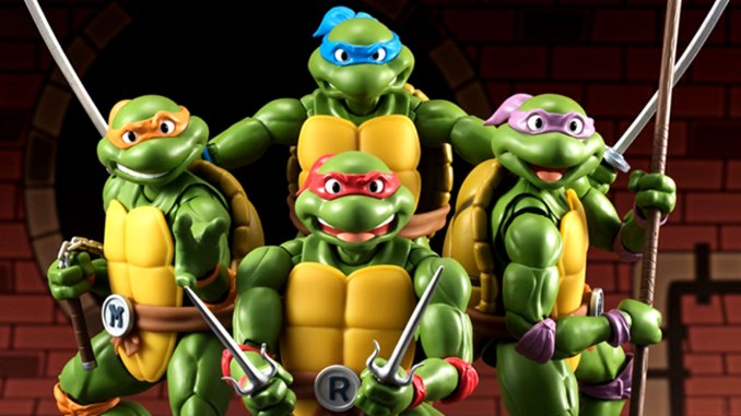 Bandai Tamashii Nations S.H. Figuarts Teenage Mutant Ninja Turtles Figures