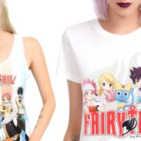4 Fairy Tail Anime T-Shirts Perfect for Summer