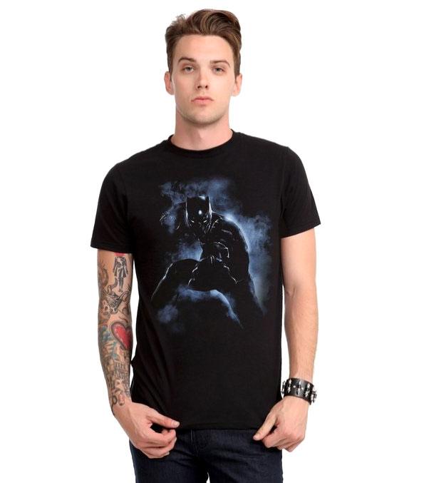 Marvel Captain America: Civil War Black Panther T-Shirt