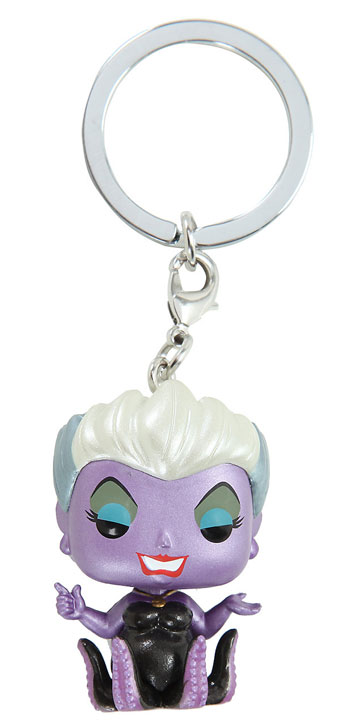Funko Disney The Little Mermaid Pocket Pop! Ursula Metallic Key Chain