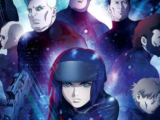 Ghost in the Shell: The New Movie Blu-ray Cover