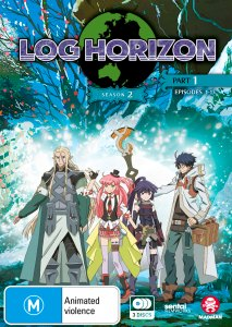 Log Horizon Season 2 Part 1 Blu-ray Cover Artwork