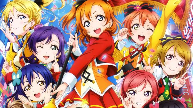 LoveLive! The School Idol Movie Blu-ray Cover Image
