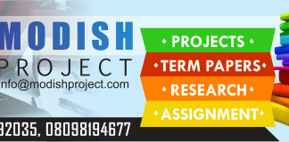 project topics and materials download