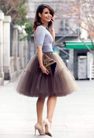 Μία διαφορετική φούστα με τούλια ήθελε ΦΟΥΣΤΑ ΤΟΥΛΙ ΠΟΥΡΟ ... 13c30561d75