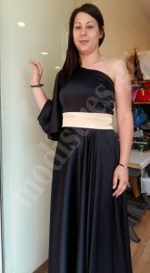 Βραδινό φόρεμα για κουμπάρα _02
