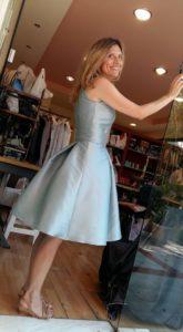 2d4783796efa Ραφή φορέματος για κουμπάρα - www.modistres.gr