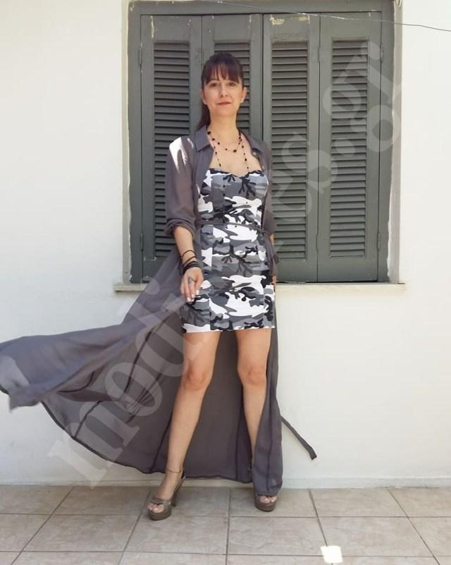 5fb51cb12117 Ντύσιμο για γάμο με φόρεμα στράπλες - www.modistres.gr
