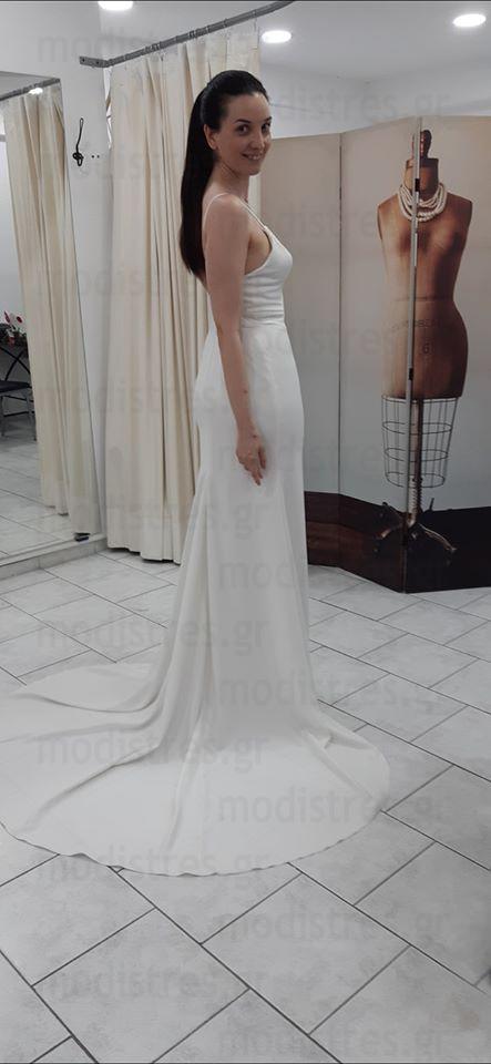 Νυφικά φορέματα απλά οικονομικά