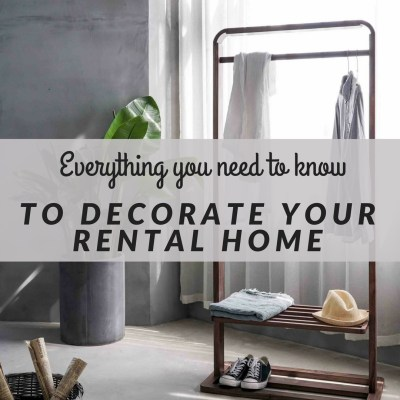 Everything you need to know to decorate your rental home