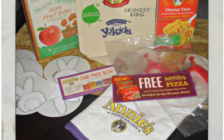 Giveaway: Annie's Rising Crust Pizza Made With Organic Ingredients