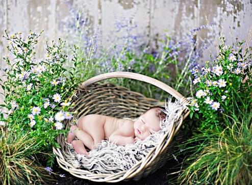 My beautiful daughter during her newborn photo shoot in August 2010. (Photo: Heidi Hope Photography)