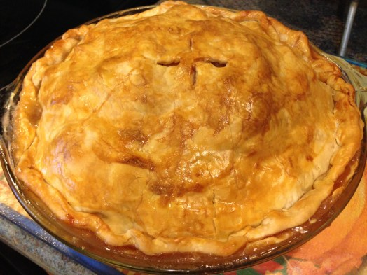 Prepare your taste buds for a sweet and tangy Tri-Apple Pie that'll have you begging for seconds.