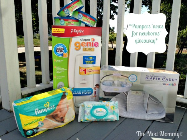 Pampers news for newborns giveaway