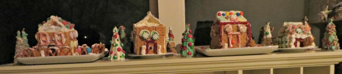 complete gingerbread village