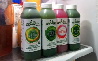 #3DaysToGreen with Evolution Fresh juice